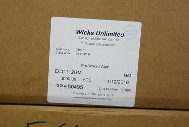 ECO112HM Wick