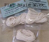Flat Braid Wicks