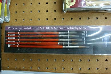 Kolinsky-Sable-Brushes