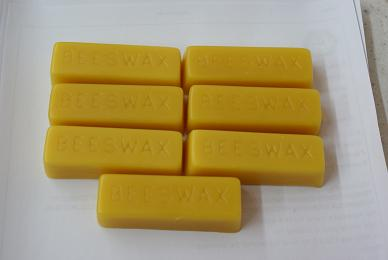 Yellow Beeswax Block 1 oz